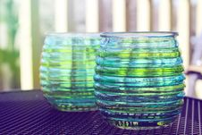 Free Beautiful Design With Glass Cups Stock Image - 30449081