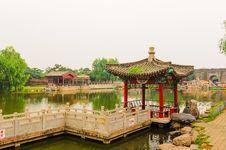 Free Pavilion On Lakeside Stock Images - 30449334