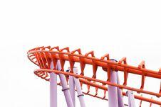 Free A Segment Of A Roller Coaster Stock Photos - 30450853