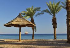 Free Sandy Beach Of Eilat, Israel Royalty Free Stock Image - 30453026