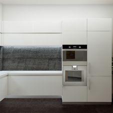Free Modern Kitchen House Interior Royalty Free Stock Photos - 30454348