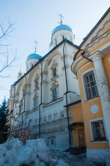 Free Novospassky Monastery In Moscow. Royalty Free Stock Photos - 30457378