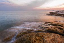Free Coast Sunset Stock Photo - 30457620
