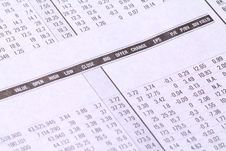 Free Stock Market Reports Royalty Free Stock Photos - 30459748