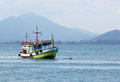 Free Fishing Boat In Sea Royalty Free Stock Image - 30464476