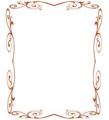 Vintage Ornament Vector Stock Photography