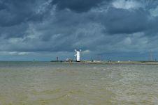 Free Lighthouse On Baltic Coast Stock Image - 30464081