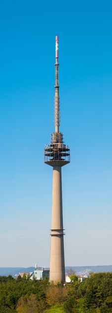Free TV Antenna Tower Stock Images - 30466234