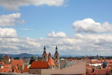 Free Sky Over Old Town Stock Photography - 30466512