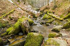 Free Winter Stream Royalty Free Stock Images - 30470109