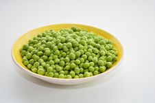 Free Fresh Green Peas Royalty Free Stock Photo - 30470785