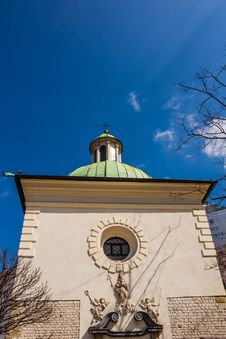Free The Church Of St. Adalbert Stock Photography - 30475372