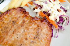 Free Pork Steak Royalty Free Stock Images - 30478819