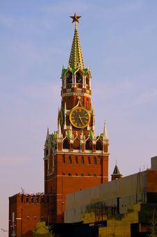 Free Spasskaya Tower Stock Photography - 30481522