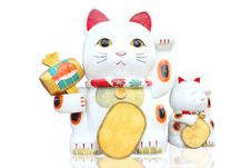 Free Lucky Cat Stock Photo - 30482390