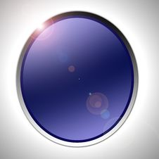 Free Blue Circle Royalty Free Stock Photography - 30483977