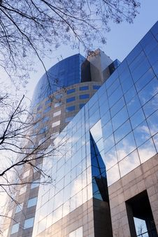 Free Modern Glass Building Stock Photos - 30485353