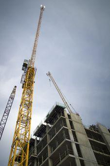 Free Construction Cranes Stock Photos - 30485543