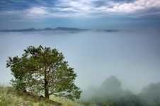 Free View Of Early Morning Landscape Royalty Free Stock Photos - 30490438