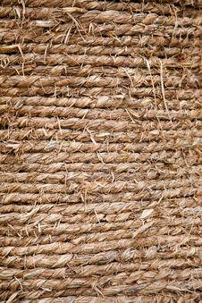 Straw Rope Background Royalty Free Stock Photo