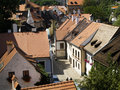 Free Old Town In Cesky Krumlov Royalty Free Stock Photography - 3051647