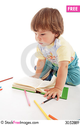 Free Kid Pens Royalty Free Stock Images - 3052889