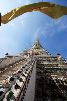 Thailand Wat Arun Sculpture Royalty Free Stock Photo