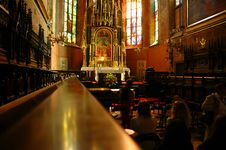 Free Interior Of Cathedral Stock Photography - 3050752