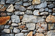 Free Stone Background Royalty Free Stock Image - 3051176