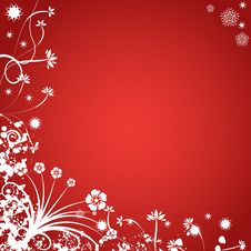 Free Abstract Winter Vector Backgro Stock Photo - 3051780