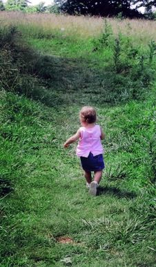 Free Toddler In Countryside Royalty Free Stock Photo - 3052585