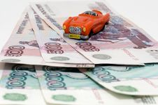 Free Car On Credit Royalty Free Stock Photo - 3053985