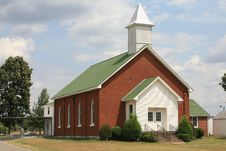 Free Country Church In Tennessee Royalty Free Stock Photo - 3054305