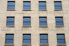 Free Blue Windows Of A Building Stock Photos - 3054513