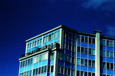 Free Blue Apartment Building Stock Photos - 3054593