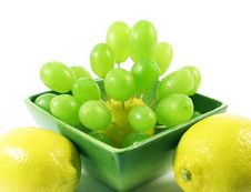Free Lemons And Grapes Fruits Stock Photos - 3055063
