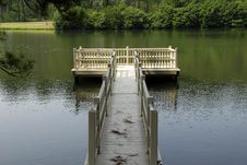 Free Lake Platform Royalty Free Stock Photo - 3055345