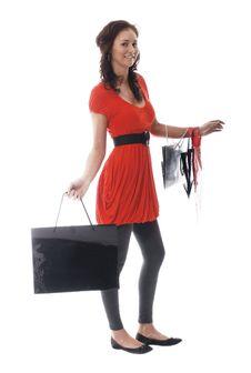 Free Pretty Woman Shopping Royalty Free Stock Photos - 3056918