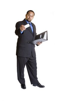 Free Young Businessman Royalty Free Stock Image - 3056966