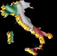 Free Save Ur Nation Italy AntiFire Royalty Free Stock Images - 3057319