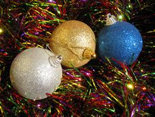 Free Christmas Balls Stock Image - 3057531