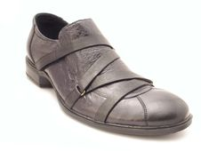 Black Shoe Stock Photography