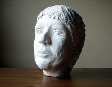Head Of Plaster Stock Photo