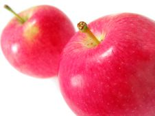Free Two Red Apples Royalty Free Stock Image - 3058536