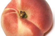 Donut Peaches Royalty Free Stock Photo
