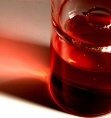Free Red Glass Royalty Free Stock Images - 3059549