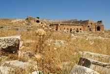Ancient Debris Stock Image
