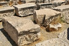 Ancient Debris Royalty Free Stock Images