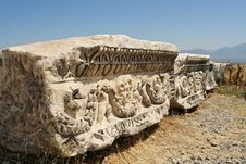 Ancient Debris Royalty Free Stock Image