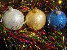 Free Christmas Balls Royalty Free Stock Photos - 3059648